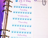 Hydration tracker. Water tracker for your personal planner