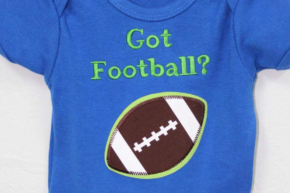 Baby boy football bodysuit boy blue bodysuit gator baby for Baby boy blue shirt
