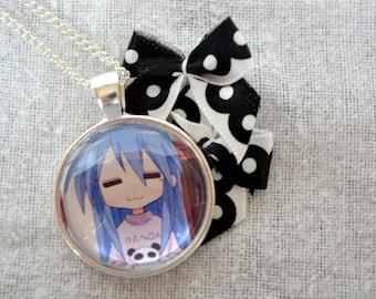 Konata Izumi Gaming - Lucky Star Anime Necklace