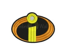 Embroidery design - Incredibles embroidery design ~ INSTANT download machine embroidery pattern