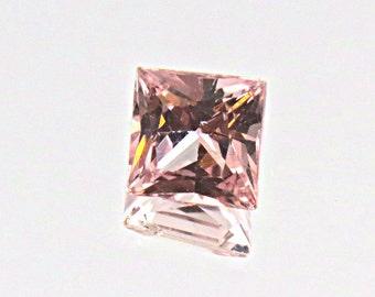 Light Peachy Pink UNHEATED SAPPHIRE - 0.41 ct