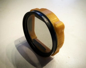 52mm Camera Filter To Go-Pro Adapter