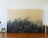 The Forest - Printed on Wood - Photography Art