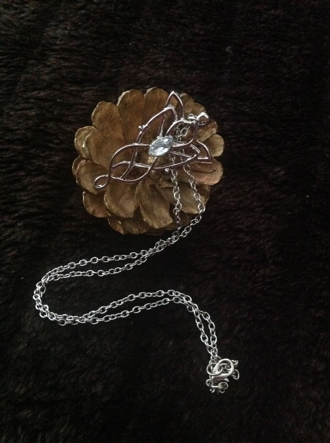 lord of the rings inspired necklace
