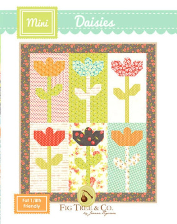 Mini Daisies Pattern by Fig Tree & Co.