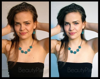 Portrait retouching ADVANCED service / Custom Photo editing / Photoshop editing / Face retouch / Digital makeup / Makeover / Email delivery