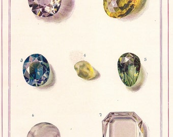 Gleaming Diamonds - print for diamond lovers