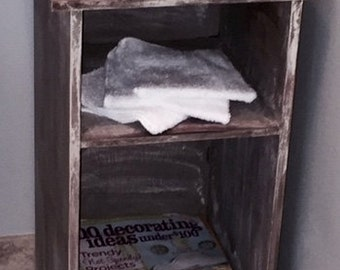 Adorable Driftwood Reclaimed Wood Whatnot Shelf