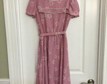 Pretty Pink Vintage Dress