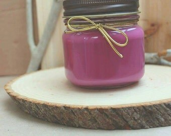 The autumn leaves candle
