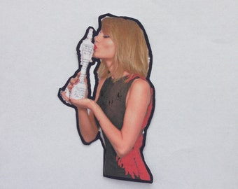 Taylor Swift Decal Etsy