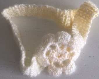 Crochet 'Baby Gatsby' hairband