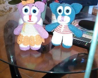couple of chat 24 cm cotton