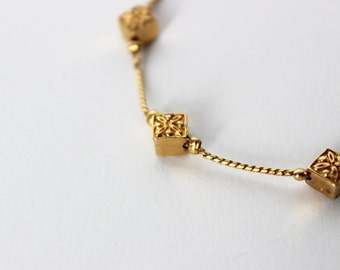 Napier Gold Tone Necklace