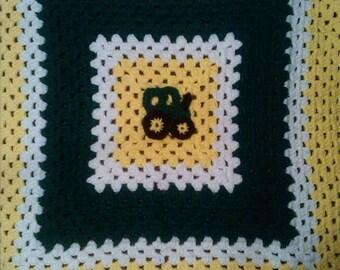 75% OFF! John Deere Baby Blanket