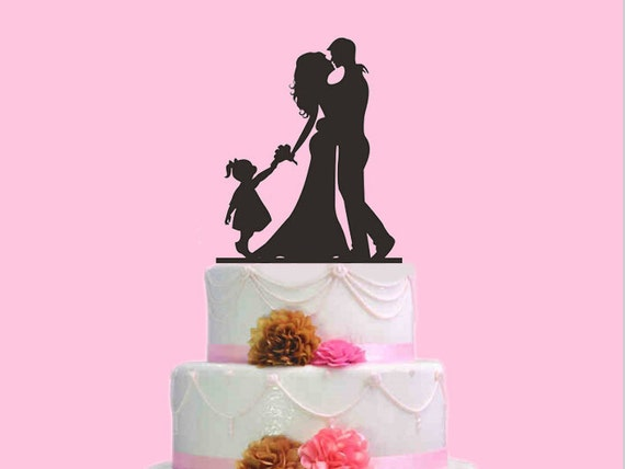 Modern Family Wedding Cake Topper Member For
