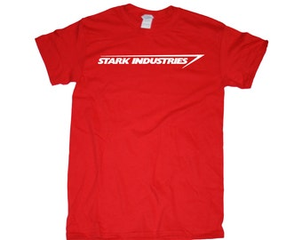 STARK INDUSTRIES Iron Man Tony Stark Men's/Women's T-Shirt