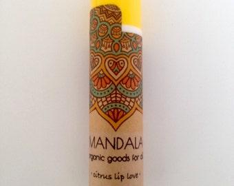 organic lip balm | vegetarian lip balm | citrus lip balm | stocking stuffer | gluten free lip balm | cruelty free lip balm | gift idea