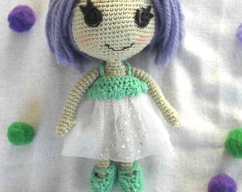 Crochet lalaloopsy doll