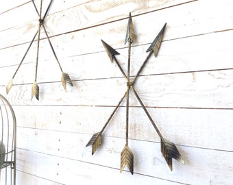 Iron Arrows, Home Decor, Wall Art, For The Home, Tribal Decor, Arrow Art, Native American Home, Customize