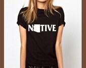 arizona shirt, native shirt, arizona tshirt, arizona tees, state shirts, home t, map shirt, unisex, birthday gifts, teacher shirt