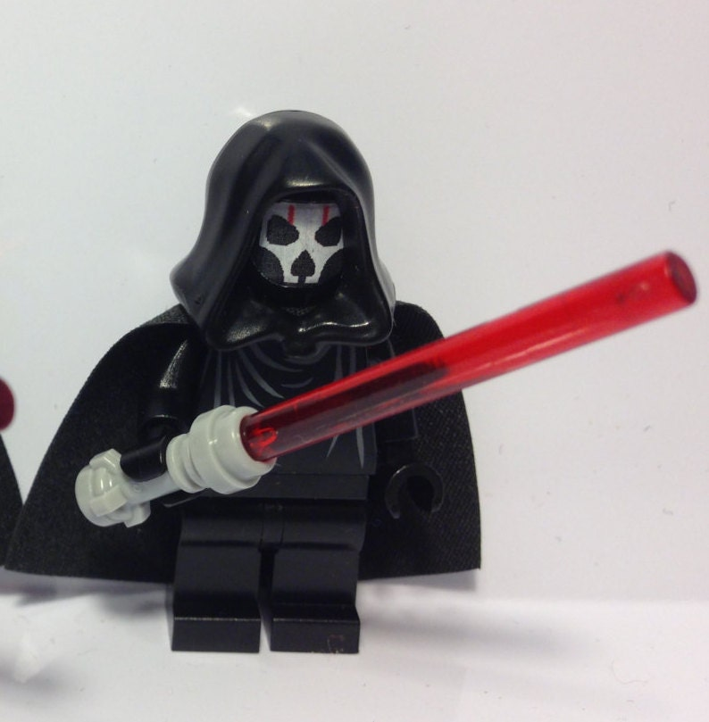Custom Darth Nihilus LEGO minifigure inspired by Star by ...