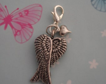 Handmade Angel Wings Charm