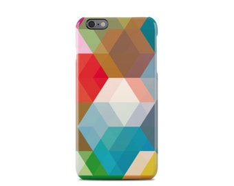 Colors Geometric Pattern iPhone 6 Case - iPhone 6 Plus Case - iPhone 5 Case - iPhone 5S Case - iPhone 5C Case