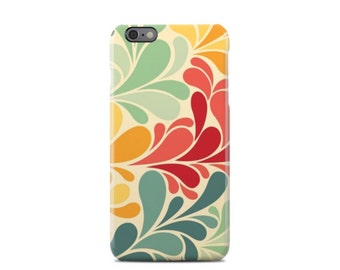 Colors Floral Pattern iPhone 6 Case - iPhone 6 Plus Case - iPhone 5 Case - iPhone 5S Case - iPhone 5C Case