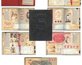 5 Jack the Ripper Altered Book by LisaVollrath