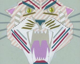 Washi Tape Tiger