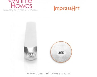 Small .925 Silver Marking Stamp for Silver Jewelry. Impressart 925 Marking Stamp.
