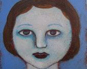 Esme - tiny original painting