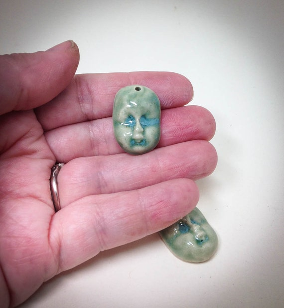 doll face charm pendant jewelry supplies charm creepy