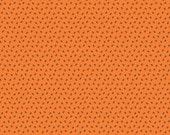 SALE Happy Haunting Halloween fabric by Deena Rutter and Riley - Happy Haunting Spiders in Orange- Fat Quarter, Half Yards, Yardage