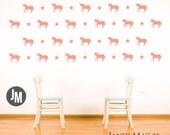 Unicorns and Stars Wall Decal Set - Fantasy Fairy Tale Girls Bedroom Nursery Wall Decor - Unicorn Horse Wall Sticker - CG122