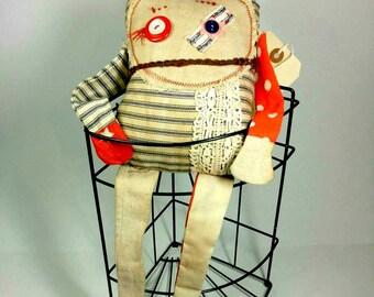 Primitive Monster Ragdoll Kit - DIY - Make it yours