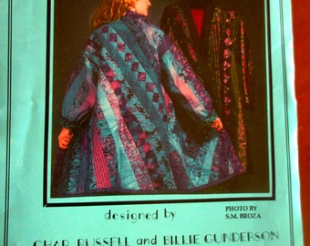 Pattern Womens Quilted Coat/Jacket