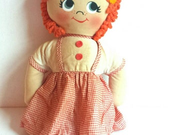 Vintage Kuddles Rag Doll by Knickerbocker