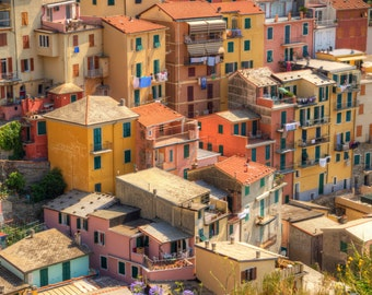 Collection of 5 Fine Art Photographs of Cinque Terre, Italy