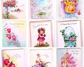 vintage greeting cards - Easter cards - Lot of 15