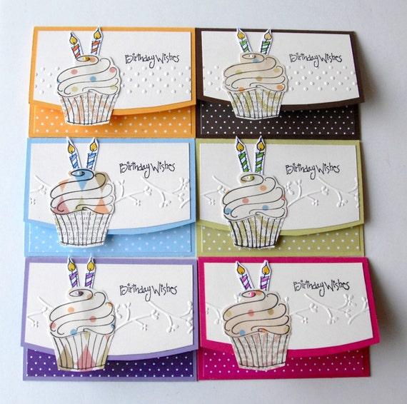 BIRTHDAY Gift Card Holders Handmade Goodness For Store Bought