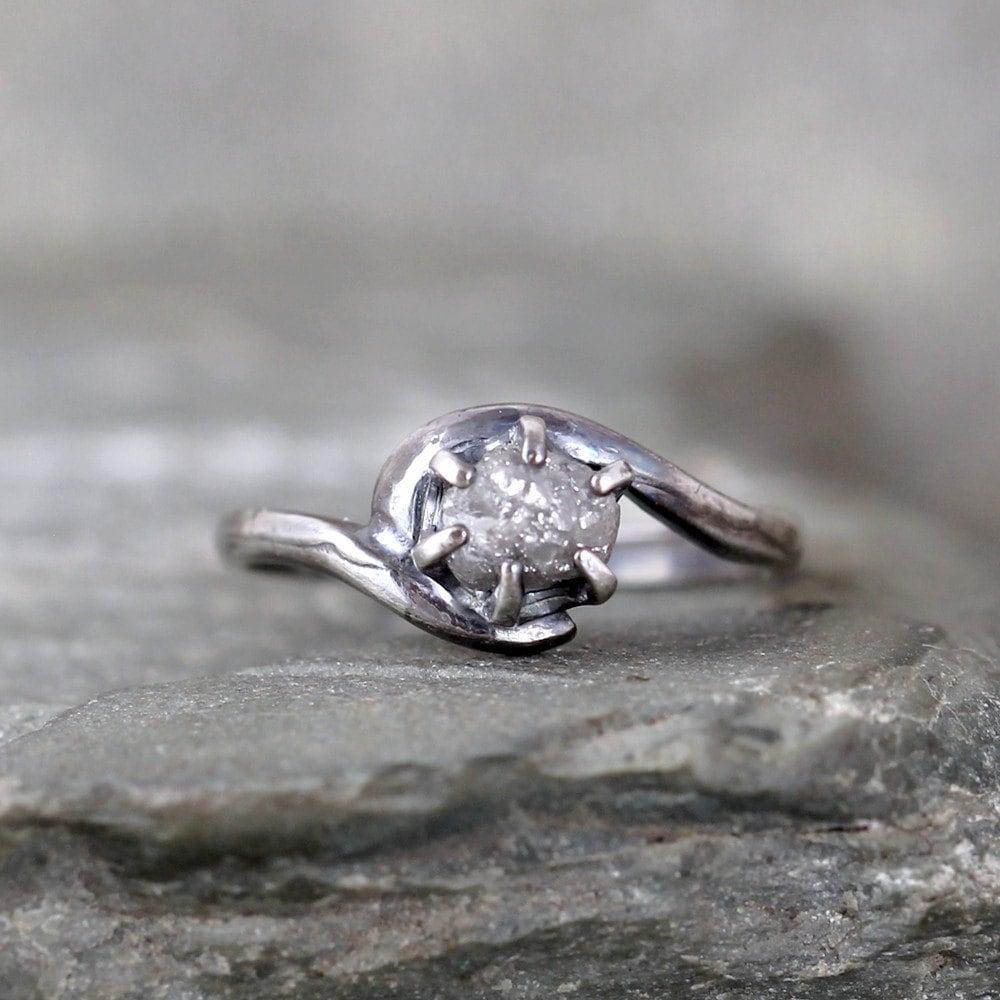 Rough Diamond Rings: Chandeliers & Pendant Lights