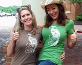 Cat shirt, Funny t shirt, One Cool Cat tshirt, gift for wife, women top, cat shirt for women, cat lady, animal rescue, crazy cat lady,