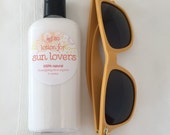 SALE Sunscreen Lotion for Sun Lovers, 100% Natural, SPF 20-30