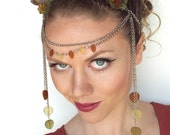 Wood Nymph Circlet with Horns
