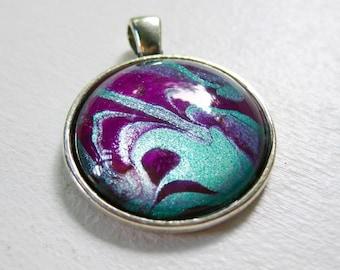 Mesmerizing Marble pendant