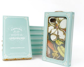 iPhone 7 Case, Magnolia iPhone SE, Samsung Galaxy, Flower iPhone 6s Plus Case Vintage Floral