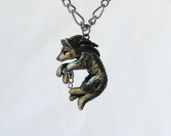Zelda Wolf Necklace Legend of Zelda Twilight Princess