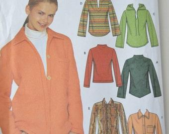 Misses Knit Tops - Simplicity 9513 Pattern - UNCUT